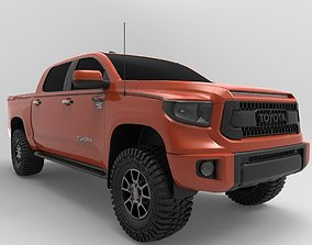 3D model 2018 Toyota Tundra TRD PRO Edition