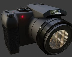 camera fully modified 3D asset