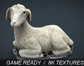 3D model low-poly Sheep