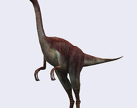 animated 3DRT - Dinosaurs - Compsognathus