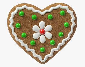 3D model gingerbread cookie 05