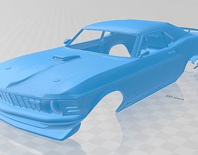 Mustang Mach 1 Printable Body Car