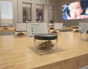 3D Marijuana Cannabis