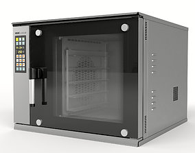 MIWE cube air convection oven 3D model