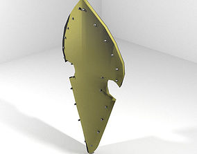 3D model Personal Armor Shield - Medieval Elven