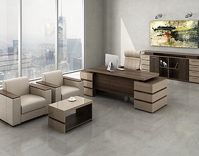 manager Office seating 3D