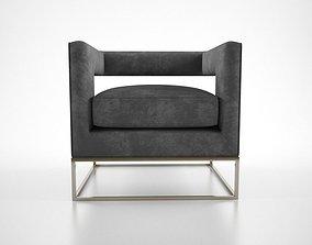 Milo Baugham Club Chair 3D