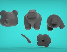 Panda Peeing 3D printable model