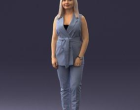 Beautiful woman 1112 3D print ready