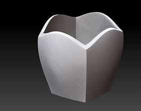 3D printable model Extended pot 26