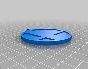 3D print model Super Smash Brothers keychain fob