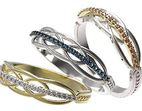 rings 3D printable model Ring