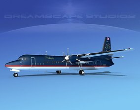 Fokker F-60 Freedom Air 3D