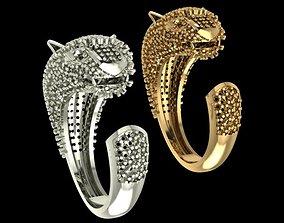 gem Tiger Ring 3D printable model