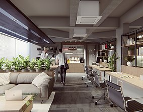 Lumion 10 and Sketchup Project File - Co-Wrok Office 3D