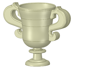 vase cup pot jug vessel vp403 for 3d-print or cnc