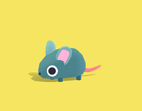 3D asset Miki the Mice - Quirky Series