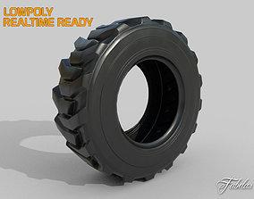 3D model Loader tyre
