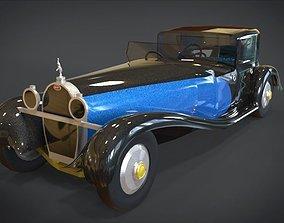 3D model 1930 Bugatti Type 41 Royale Coupe Napoleon