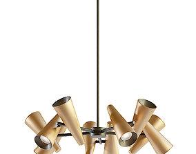 3D model Maytoni Giro MOD095PL-10BS hanging lamp