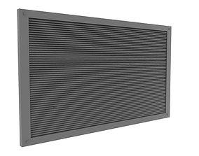 ventilation grid 3D