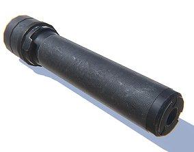 Tactical Silencer 5-45x39 3D model