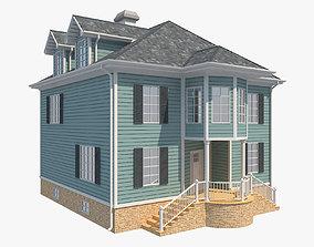 Family House 9 3D asset