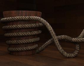 Rope Model 3D