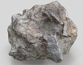 3D asset meteorite