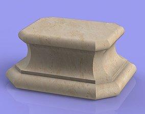 3D print model Marble Socle 01