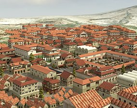 Ancient Town 3D asset