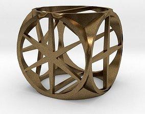 3D print model Dice present