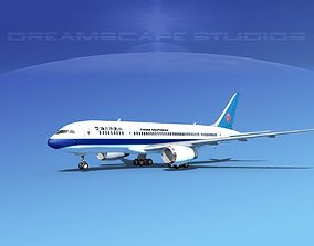 3D model Boeing 787-8 China Southern