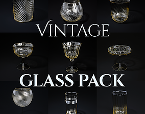 Vintage Glass Pack 3D model