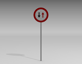 No priority over coming sign 3D