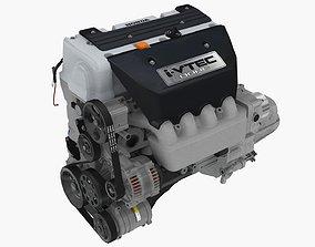 3D asset Honda Civic Si K20Z3 engine