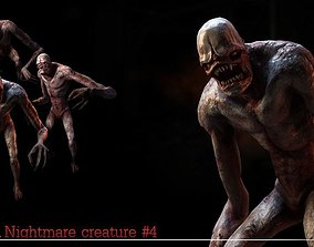 3D model Nightmare Creature 4