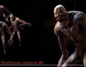 3D model Nightmare Creature 4