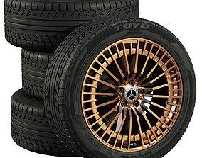 3D drive Mercedes wheels