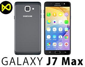 3D model Samsung Galaxy J7 2017 Max Black