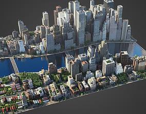 3D asset River City C4