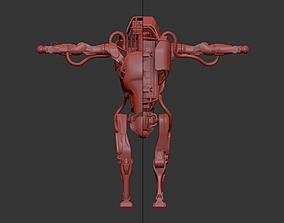 3D asset Robot Atlas by Boston Dynamics