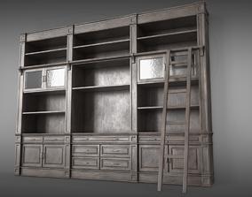 Sideboard Bookshelves 3D model