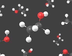 Ethanol molecule - Model