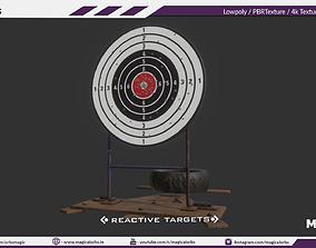 3D asset Reactive Target