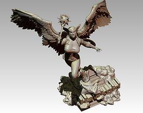 3D printable model Hawkgirl