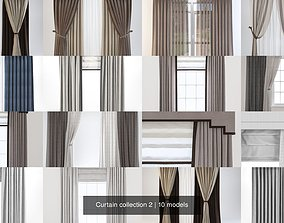 3D model Curtain collection 2