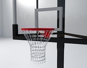 3D model Basketball Backboard