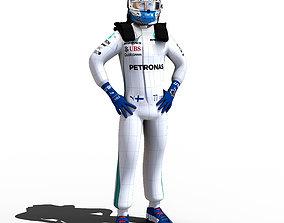 Valteri Bottas 2018 3D model