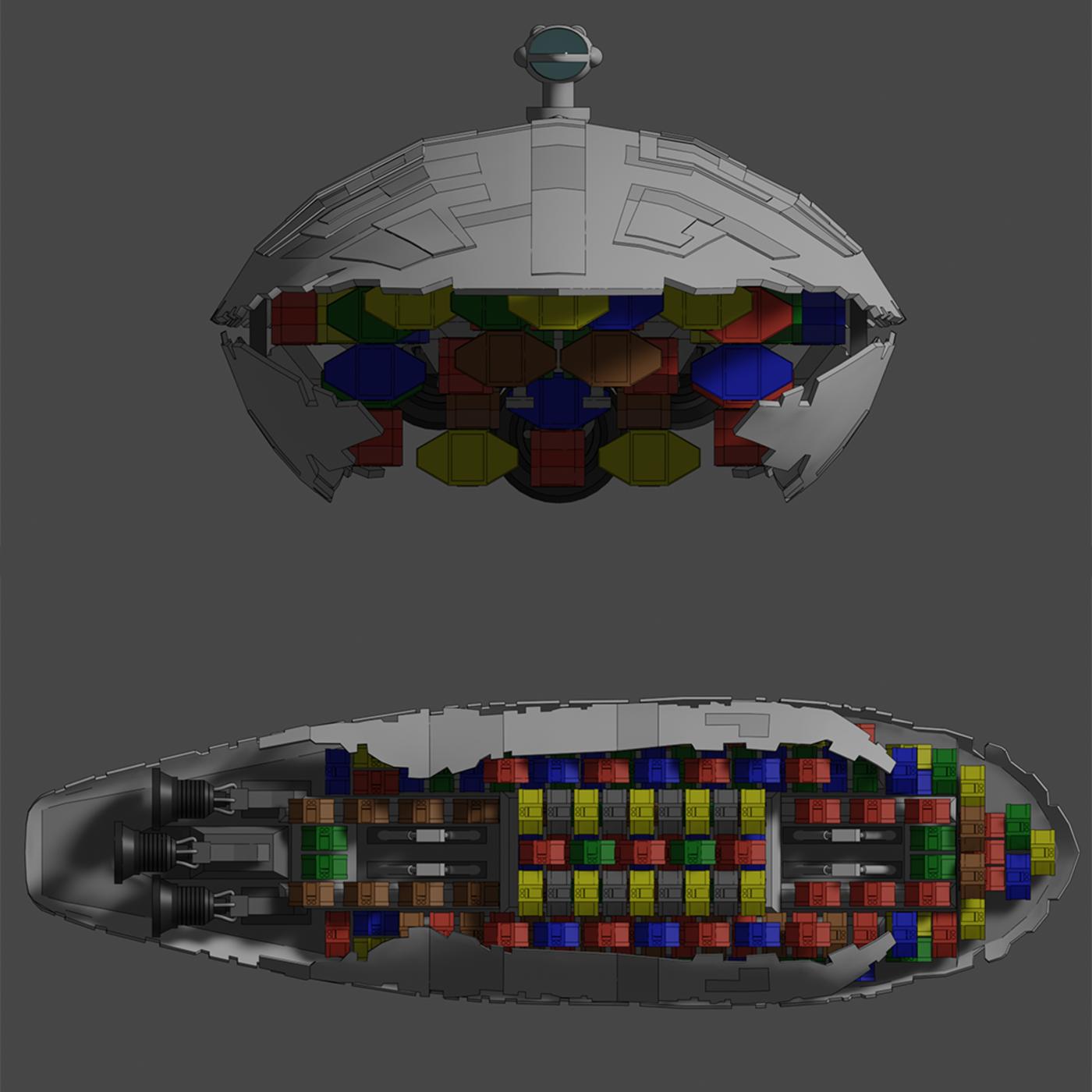 GR-75 Transport - Star Wars - Fan Art